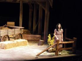 Laurie in Copland's Tender Land, WMU Opera. February 2012