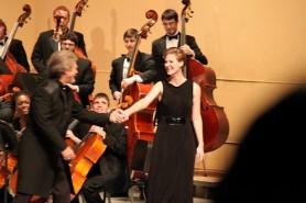 Performance with Samuel Ramey and WMU Collegiate Singers, excerpt from Floyd's Susannah (singing Susannah), Kalamazoo, MI. Spring 2011